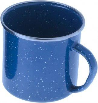 GSI Emaille Tasse 355 ml blau