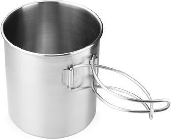 GSI Glacier Stainless Bottle Cup/Pot 0.7L