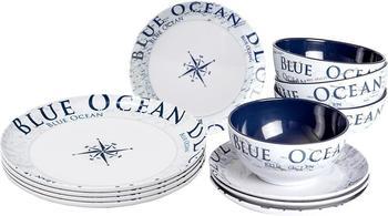 Brunner Geschirrset Midday Blue Ocean