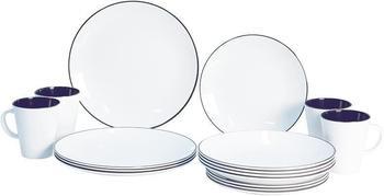 Gimex Dinnerware Set 16 Linea (blue)
