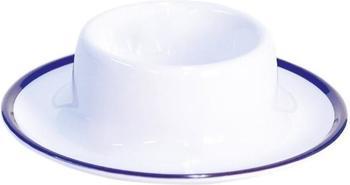 Gimex Eierbecher Linea (weiß/blau)