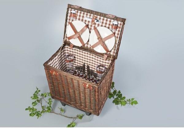 Brema Picknickkorb-Trolley Föhr´´
