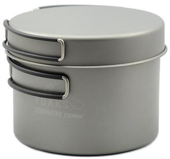 Toaks Titanium Pot with Frying Pan