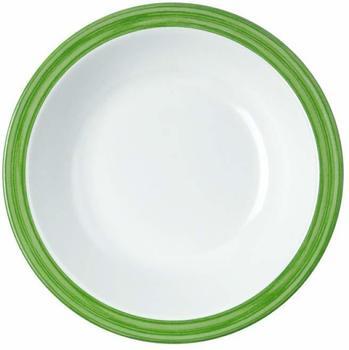 WACA Melamin Bistro Teller tief (grün)