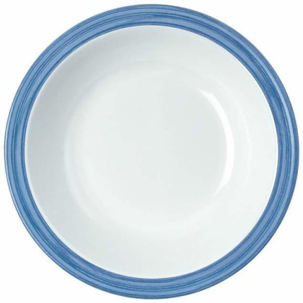 WACA Melamin Bistro Teller tief (blau)