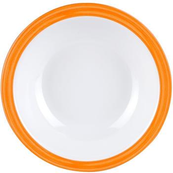 WACA Melamin Bistro Teller tief (orange)