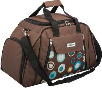 anndora-picknicktasche-zubehoer-29-teilig-braun-kreise