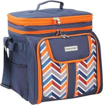 anndora-picknicktasche-umhaengetasche-29-teiliges-zubehoer-blau-orange