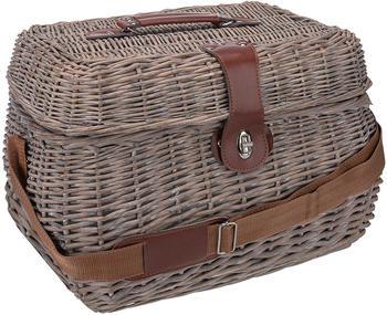 anndora-picknickkorb-mit-isolierfach-inkl-zubehoer-21-tlg-4-personen-braun-rot-gruen-beige