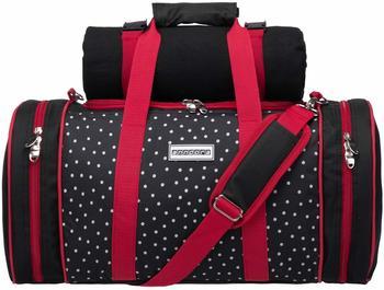 anndora-pichnicktasche-kuehltasche-4-personen-inkl-decke-schwarz-weiss-gepunktet