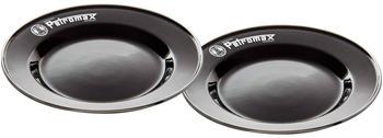 Petromax Emaille Teller (2er Set) schwarz