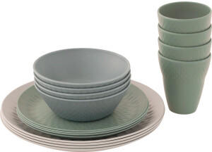 Outwell Tulip 4 Person Dinner Set