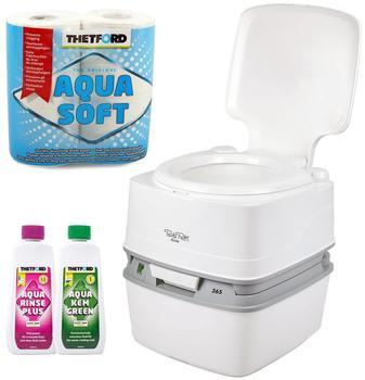 Thetford Potti Qube 365 + Toilettenpapier + Chemikalien