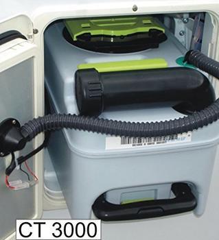 SOG 1 Typ 3000A WC-Entlüftung (Dometic CT3000 + CT4000) weiß
