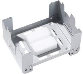 Esbit Taschenkocher mit Windschutz inkl. 2x27g Trockenbrennstoff-Tabletten