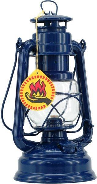 Feuerhand Petroleumlampe Sturmlaterne (kobaltblau)