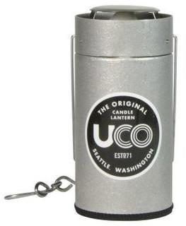 UCO Kerzenlaterne (silber)