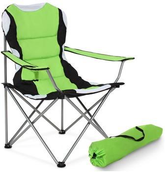 TecTake Campingstuhl gepolstert (grün)