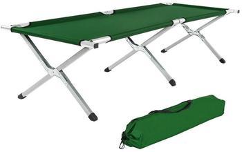 TecTake 2 Feldbetten XL (grün)
