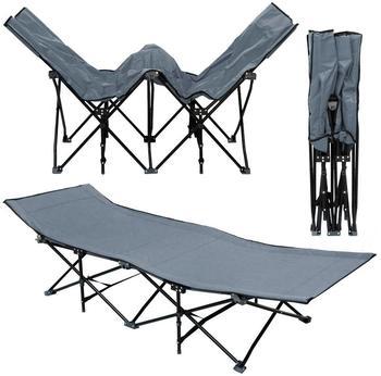 Amanka Campingliege XL (grau)
