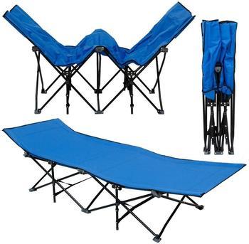 Amanka Campingliege XL (blau)