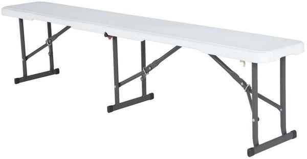 Lifetime Kunststoff Klappbank Sitzbank 183x29cm