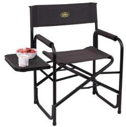 Camp 4 Maxi de Luxe Regiestuhl mit Seitentisch - schwarz