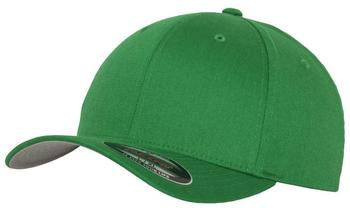 Flexfit 6277 Wooly Combed pepper green