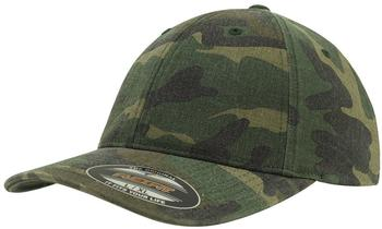 Flexfit 6977CA Garment Washed Camo green camo