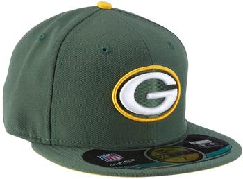 New Era Green Bay Packers Authentic Performance On-Field 59FIFTY green