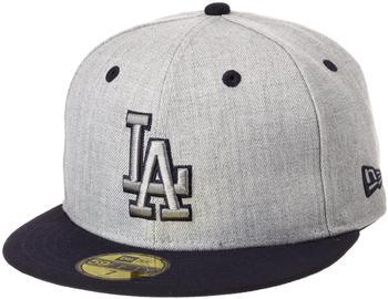 New Era Los Angeles Dodgers Heather Top 59FIFTY heather grey/black