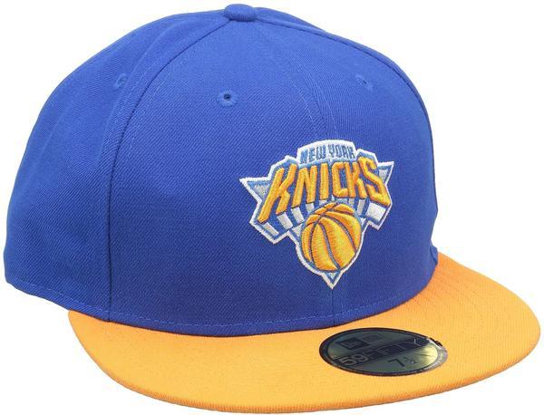 New Era New York Knicks NBA Basic 59FIFTY blue/orange