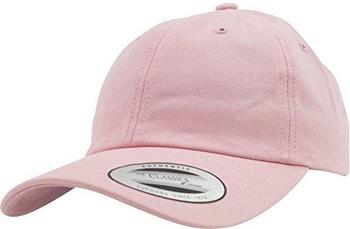 Flexfit 6245CM Low Profile Cotton Twill Dad Hat pink