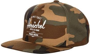 Herschel Whaler Cap woodland camo