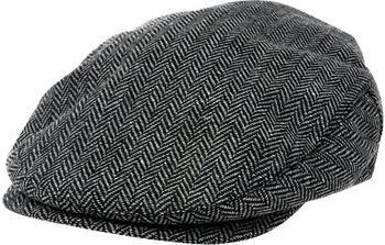 Brixton Hooligan grey/black herringbone