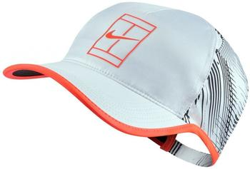 Nike Court Aerobill Cap white/hyper orange