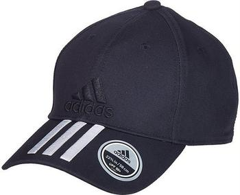 Adidas Six-Panel Classic 3-Streifen Kappe black/white