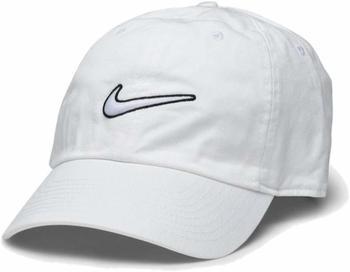 Nike Heritage 86 Essential Swoosh Cap white
