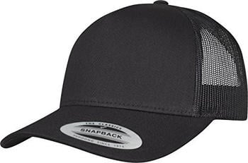 Flexfit 6506 5-Panel Retro Yupoong Trucker black