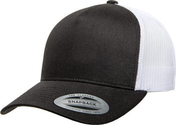 Flexfit 6506T 5-Panel Retro Yupoong Trucker 2-Tone black/white