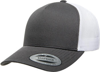 Flexfit 6506T 5-Panel Retro Yupoong Trucker 2-Tone charcoal/white