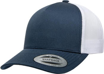 Flexfit 6506T 5-Panel Retro Yupoong Trucker 2-Tone navy/white