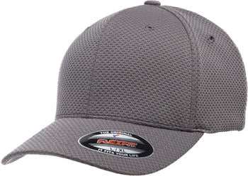 Flexfit 6584 Flexfit Cool & Dry 3D Hexagon Jersey Cap dark grey