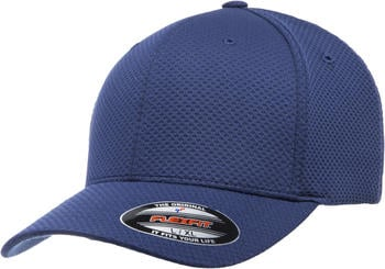 Flexfit 6584 Flexfit Cool & Dry 3D Hexagon Jersey Cap navy