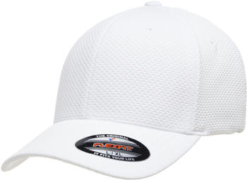 Flexfit 6584 Flexfit Cool & Dry 3D Hexagon Jersey Cap white