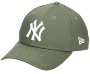 New Era 940 League Essential NY Yankees Cap new olive/optic white