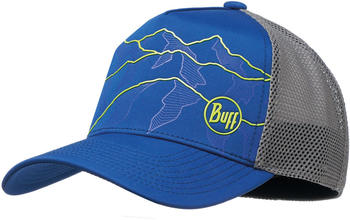 Buff Trucker Tech Cap solid cape blue