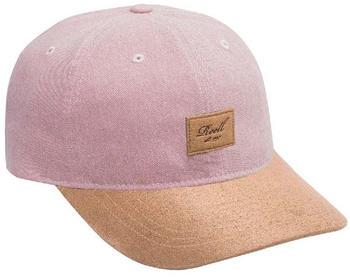 Reell Curved Suede Cap greyish pink slub
