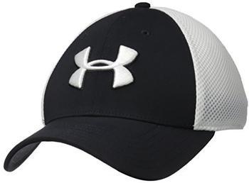 Under Armour Men's UA Microthread Golf Mesh Cap black