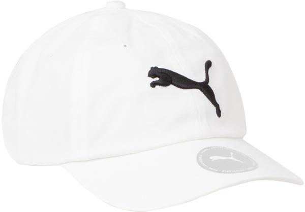 Puma Fundamentals Cap white/black cat